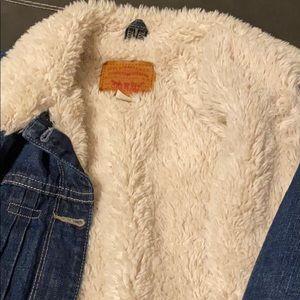 Levi's fur jacket